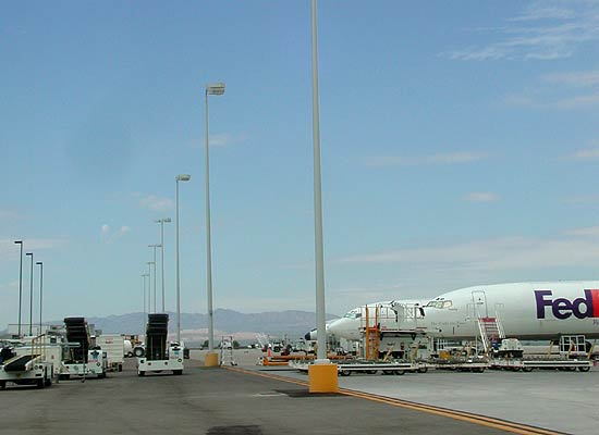 Tucson International Airport, Air Freight Apron