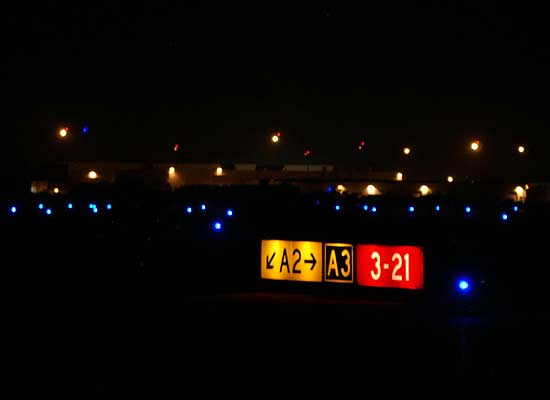 Tucson International Airport, Airfield Lighting and Signage